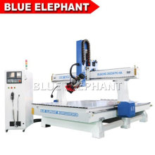 Factory Supply 2025 Atc 4 Axis CNC Router Machine for Block Styrofoam and Raw Wood Materials