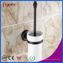 Accesorios de baño serie Fyeer Black Portacepillos de latón