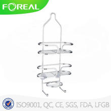 Chromed Metal Wire Elegant Bathroom Shower Caddy