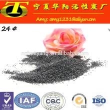 Preço mais baixo de carboneto de areia de silica preta para abrasivos e refratários