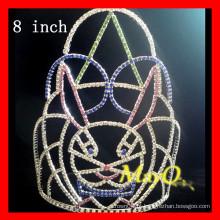 Quente! Rabbit pageant crowns para venda, tamanhos disponíveis