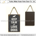 Small Size Metal Sign for Dog