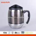 Venda Por Atacado Customized Double Wall Stainless Steel Travel Mug