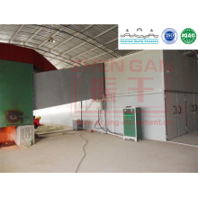 KBW Series Jumbo Hot Air Circulation Drying Room for medlar