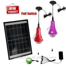 Levou kit de iluminação de galpão solar, kit de iluminação solar ao ar livre do jardim, iluminação solar ki