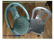 Plastic Office Chair with Handle Mould