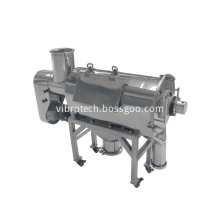 Starch centrifugal sieve sifter machine