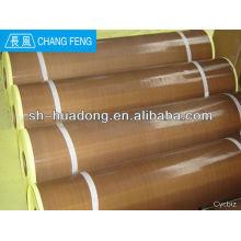 Tissu adhésif PTFE /PTFE enduit en fibre de verre / antiadhésif revêtement four