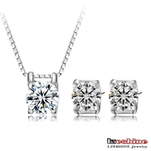 Cheap Costume Necklace Earring Sets (CST0005-B)