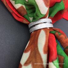 Atacado de roupas de aço inoxidável jóias cachecol Clasps