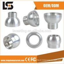 Carcasa de aço inoxidável de superfície prateada revestida de aço inoxidável da máquina de dobra do CNC