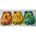Der Pantoffel mit kundenspezifischem Gummi doppelter Farbe PVC