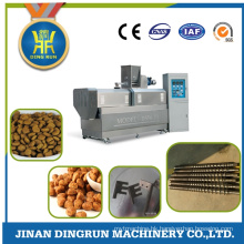 Double screw wet type dog feed extruder dryer machine