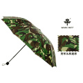 Jefe de guerra al aire libre de 25 pulgadas al viento paraguas plegable en Camo