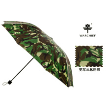 Warchief Outdoor 25 Inch Windproof Folding Umbrella in Camo