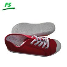 zapatos de lona casuales de moda llanura de mujer