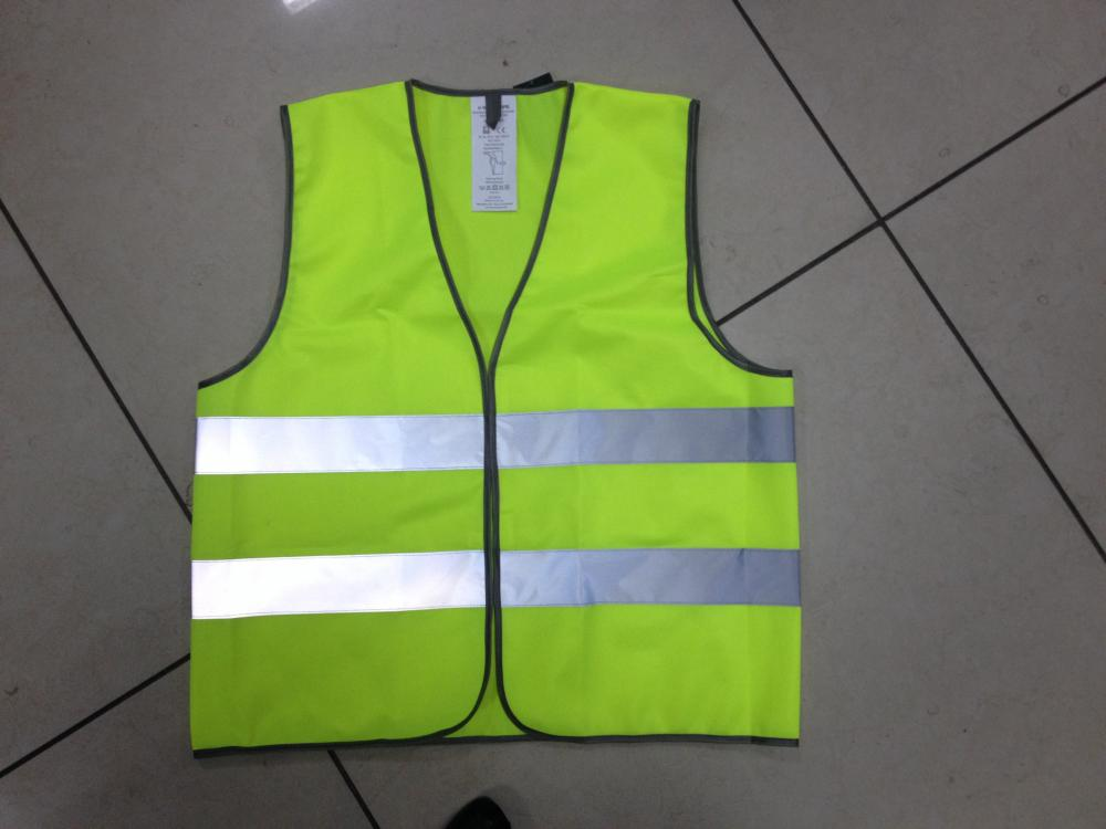 safety high visibility reflective knitting vest