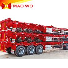 Hot Sale Equipment 3 Axles Skeleton Container Trailer