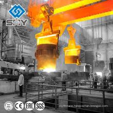 Steel mill heavy duty 75/20ton overhead casting ladle crane