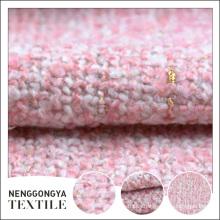 Tejido de abrigo de lana grueso nuevo cómodo profesional de calidad superior
