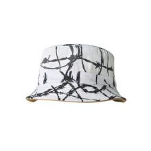 Heißer Verkaufs-Baumwollkugel-Wannen-Hut mit gesponnenem Streifen (U0020B / 21/22/23)