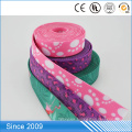 popular factory price fashional unlimited design colorful non slip flexible polyester cotton webbing 4 inch