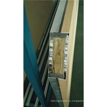 Paneles compuestos de panal de lana y aluminio de nido de abeja