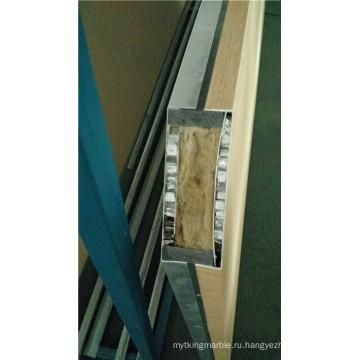 Композитные панели сотового массива Rock Wool & Aluminum