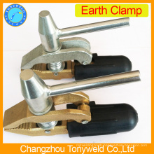 England stype brass earth cable clamp
