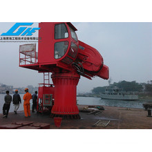 5t20m Knuckle Telescopic Boom Crane