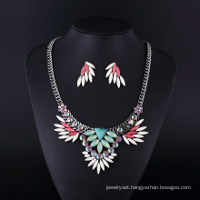 Bohemia Style Angle Wings Women Necklace Set Hln16822