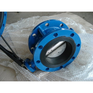 Concentric Double Flanged Butterfly Valve