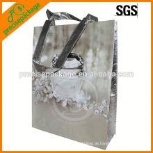 Wasserdichte laminierte nicht gewebte Verpackungstasche für kosmetische Förderung