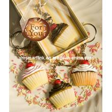 Miniature Cup Cake Schlüsselanhänger Premium Geschenke