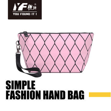 Custom simple fashion hand bag & cosmetic bag