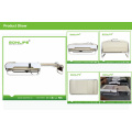 """Spiral Screw Drive+ """"S"""" Track Adjustable Thermal Massage Bed with Lifter"""