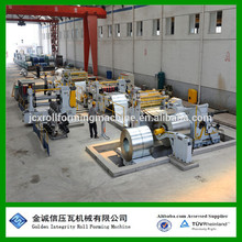 Bobina de acero de alta velocidad automática de alta velocidad de corte a la línea de longitud