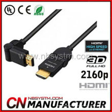 rotatable 360 degree HDMI Cable