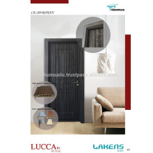 Soft Touch Surfaced PVC Door with WPC Waterproof Frame