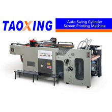 single color Full automatic Swing Screen Printing Machine for sheet paper