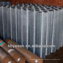 Pano de hardware / vedação soldada galvanizada / malha de hardware galvanizada