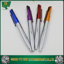 Цветная металлическая подарочная ручка