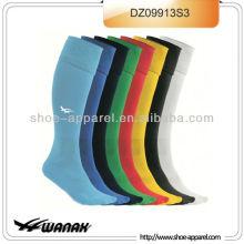 Дизайнер зеленый длинные футбол носки,футбол носки