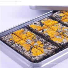 Té fermentado Mini PU-Erh con sabor de flor de crisantemo dorado en caja de regalo