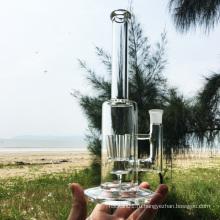 Новые художественные ремесла Стеклянные курительные трубки для воды с насадкой для душа (ES-GB-253)