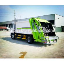 4x2 unidad Dongfeng compresor camión de basura / compresor camión recogida de basura / camión de transporte de basura / compactador de basura