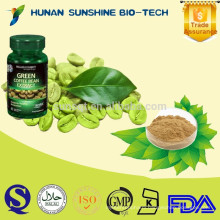 Alibaba China Herbal Suppliment Green Coffee Bean P.E. Chlorogenic Acid Powder Capsules for Sex Increase Medicine