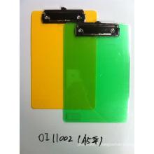 Cadeaux promotionnels de haute qualité en plastique Clipboards Oi11002