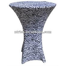 paño de tabla de la cebra, animal impresión mantel, TB70, boda, banquete, paño de tapa, marco y mesa de silla hotel