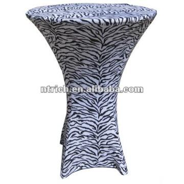 tissu de table de zèbre, animal impression nappe, TB70, mariage, banquet, hôtel Président couverture, châssis et table tissu